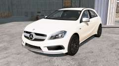 Mercedes-Benz A 45 AMG (W176) 2013 для BeamNG Drive