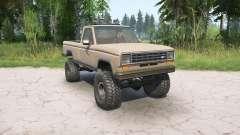 Ford Ranger Regular Cab Styleside 1983 для MudRunner
