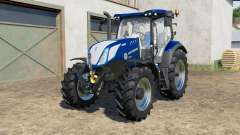 New Holland T6.125〡T6.155〡T6.175 Blue Power для Farming Simulator 2017