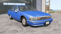 Chevrolet Caprice Classic 1991 для BeamNG Drive