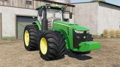 John Deere 8245R-8ꝝ00R для Farming Simulator 2017