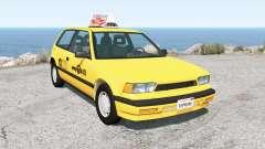 Ibishu Covet New York Taxi для BeamNG Drive