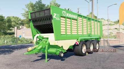 Krone ZX 560 GƊ для Farming Simulator 2017
