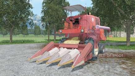 Bizon Super Z0ⴝ6 для Farming Simulator 2015