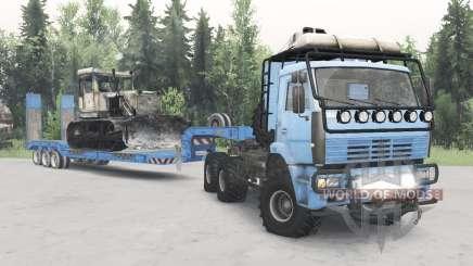 КамАЗ-652Զ для Spin Tires