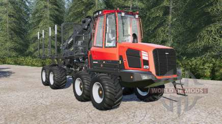 Komatsu 875 autoload для Farming Simulator 2017