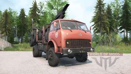 МАЗ-509А для MudRunner