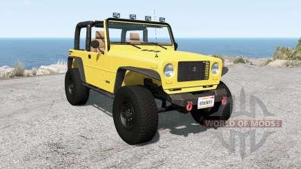Ibishu Hopper Full-Time 4WD v1.0.2 для BeamNG Drive