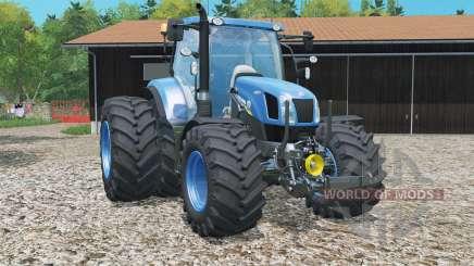 New Holland Ƭ6.160 для Farming Simulator 2015