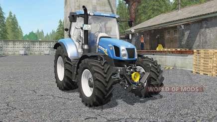New Holland T6.140 & Ƭ6.160 для Farming Simulator 2017