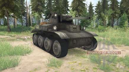 Light Tank Mk.VII (A17) Tetrarch для MudRunner