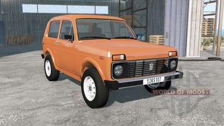 ВАЗ-2121 Нива 1992 для BeamNG Drive