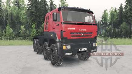 КамАЗ-6522৪ для Spin Tires