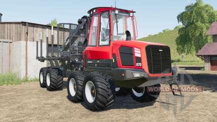 Komatsu 87ⴝ для Farming Simulator 2017