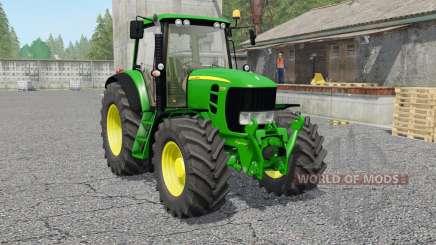 John Deere 7430 & 7530 Premiuᵯ для Farming Simulator 2017