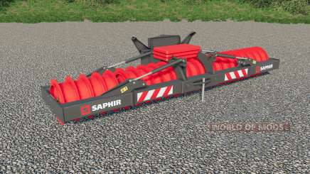 Saphir meadow roller для Farming Simulator 2017