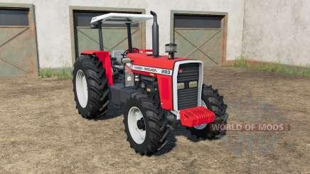Massey Ferguson 283〡290〡297〡299 для Farming Simulator 2017