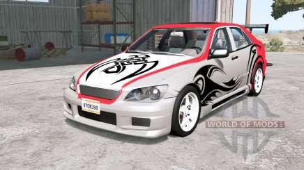 Lexus IS 300 (XE10) Ձ001 для BeamNG Drive