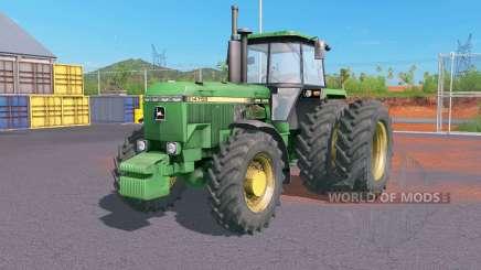 John Deere 4000-series для Farming Simulator 2017