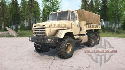 КрАЗ-632Ձ для MudRunner