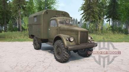ГАЗ-63 для MudRunner