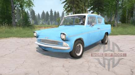 Ford Anglia Deluxe (105E) 1959 для MudRunner