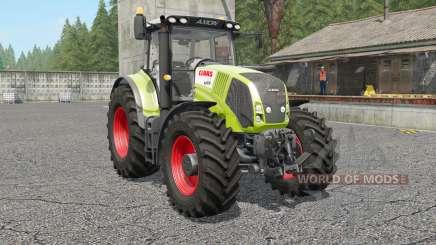 Claas Axion 810〡830〡8ⴝ0 для Farming Simulator 2017