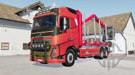 Volvo FH16 750 timber truck для Farming Simulator 2017