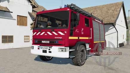 Iveco EuroCargo Feuerwehr для Farming Simulator 2017