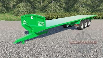 Larrington 42ft Flat Deck для Farming Simulator 2017