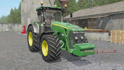 John Deere 8320R & 8370R для Farming Simulator 2017