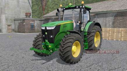 John Deere 7280R & 7310Ꞧ для Farming Simulator 2017