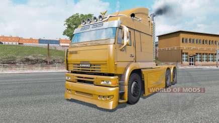 КамАЗ-6460 Turbo Dieseɫ для Euro Truck Simulator 2