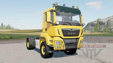 MAN TGS 1৪.500 для Farming Simulator 2017