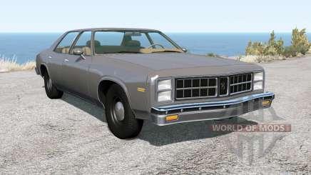 Bruckell Moonhawk sedan для BeamNG Drive