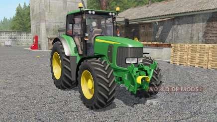 John Deere 6920Ȿ для Farming Simulator 2017