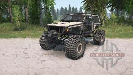 Jeep Cherokee 2-door (XJ) crawler для MudRunner