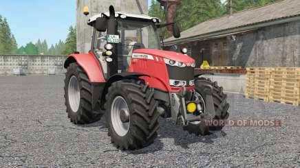 Massey Ferguson 6600-series для Farming Simulator 2017