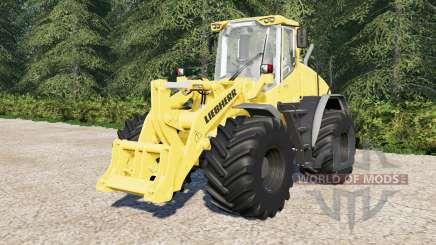 Liebherr L538 with color choice для Farming Simulator 2017