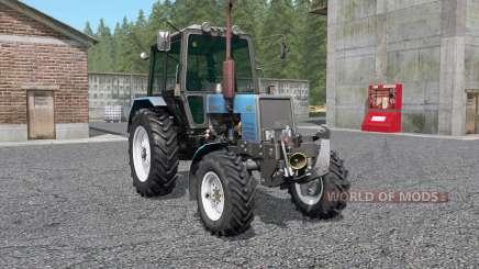 МТЗ-1025 Беларус с КУН для Farming Simulator 2017