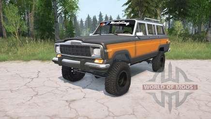 Jeep Grand Wagoneer 1991 для MudRunner
