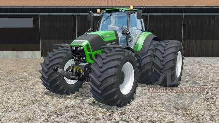 Deutz-Fahr 7250 TTV Agrotron Green Edition для Farming Simulator 2015