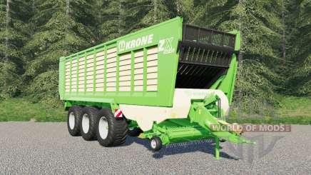 Krone ZX 560 GĐ для Farming Simulator 2017