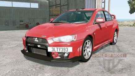 Mitsubishi Lancer Evolution X FQ-400 2009 для BeamNG Drive