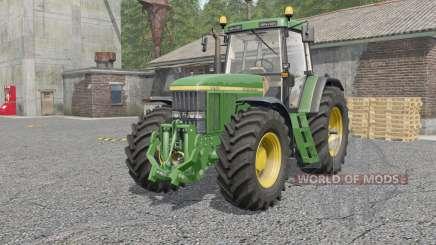 John Deere 7010-series для Farming Simulator 2017