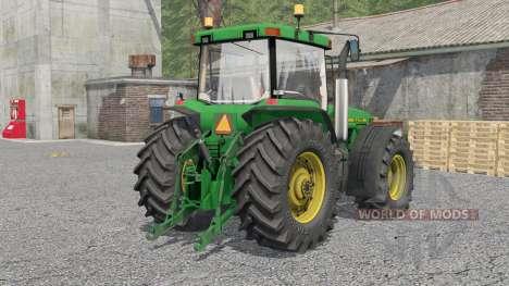 John Deere 8000-series для Farming Simulator 2017