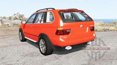 BMW X5 (E53) 2002 для BeamNG Drive
