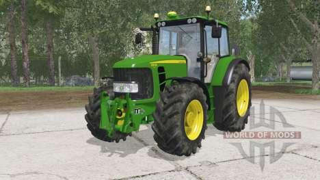 John Deere 6930 Premium для Farming Simulator 2015