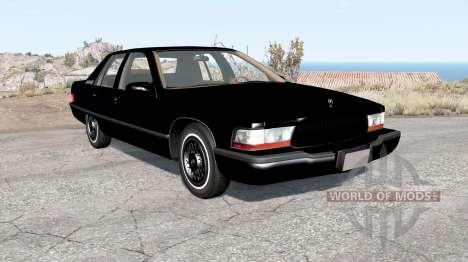 Buick Roadmaster 1996 v2.0 для BeamNG Drive