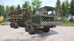 КрАЗ-6434 для MudRunner